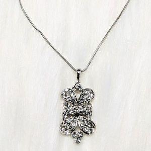 Vintage Jewelry - Art-Deco Rhinestone Pendant